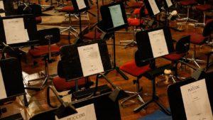 Notenpult Orchester