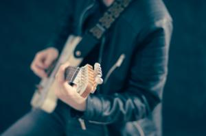 Gitarren-Spieler